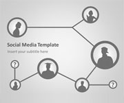 Social Media PowerPoint Template