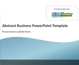 Abstract Business PowerPoint Template