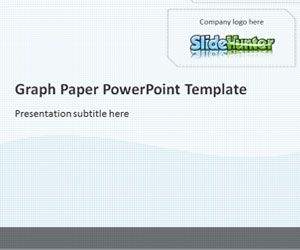 Graph Paper PowerPoint Template