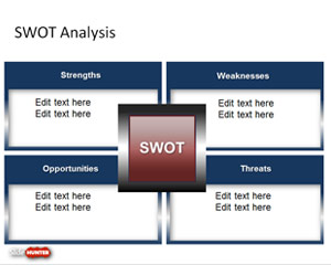 SWOT PowerPoint Slide Design