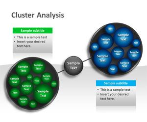 Cluster Analysis PowerPoint Template