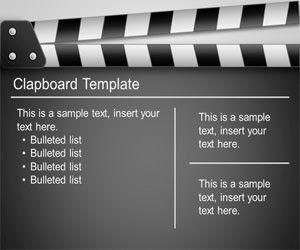 Clapboard PowerPoint Template