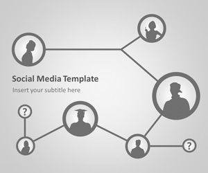 Free Social Network Powerpoint Template Free Powerpoint Templates Slidehunter Com
