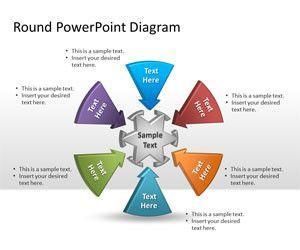 Diagrama de Bloques Circular para PowerPoint