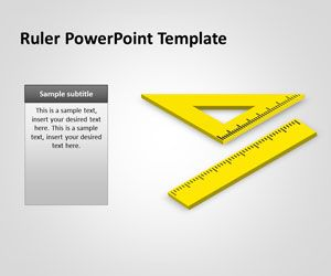 Ruler PowerPoint Template