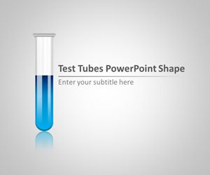 Test Tubes PowerPoint Shape