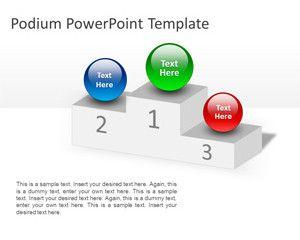Podium PowerPoint Template