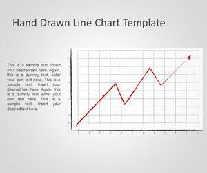 Hand Drawn Line Chart Template for PowerPoint