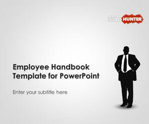 Employee Handbook template for PowerPoint