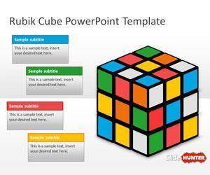 Rubik Cube PowerPoint Template