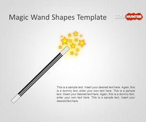 Magic Wand Shapes Template