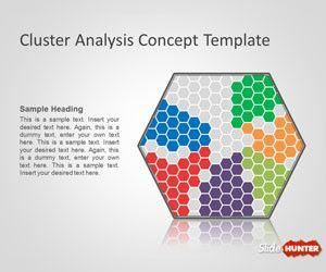 Cluster Analysis Concept PowerPoint Template