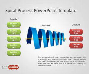Spiral Process PowerPoint Template