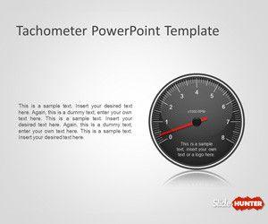 Tachometer PowerPoint Template