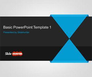 Free Basic PowerPoint Template