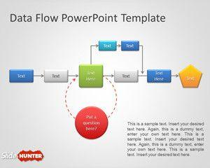 Data Flow PowerPoint Template