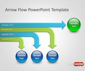 Arrow Flow PowerPoint Template