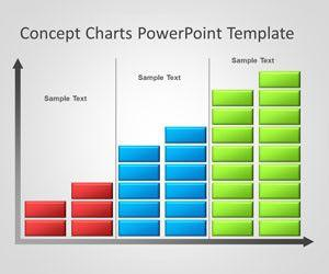 Creative Bar Chart PowerPoint Template