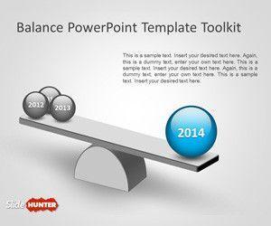 Balance PowerPoint Template Toolkit