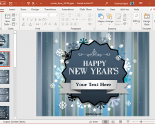 Best Animated Celebration PowerPoint Templates for the New Year