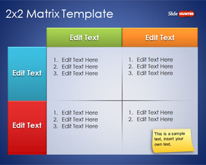 Free Matrix Powerpoint Templates Free Ppt Amp Powerpoint