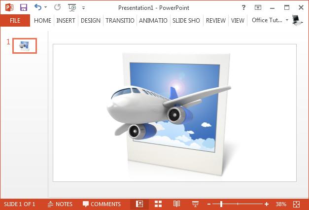 3D airplane clipart