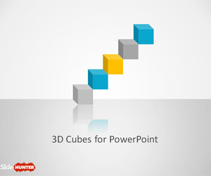 3D Cube Shapes for PowerPoint
