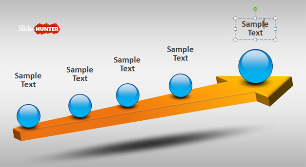 D Timeline Powerpoint Template - Timeline template powerpoint 2010
