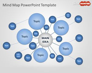 Mind Map PowerPoint Template Toolkit