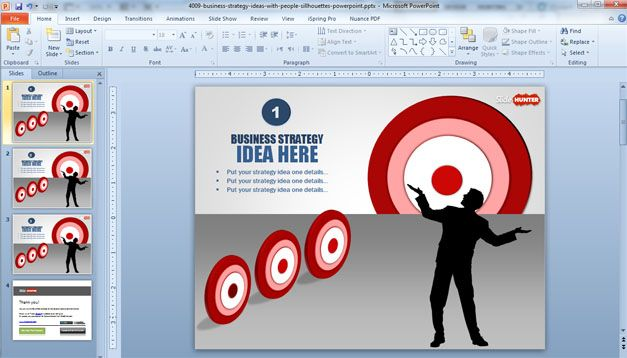 Business Strategy Ideas Template for PowerPoint