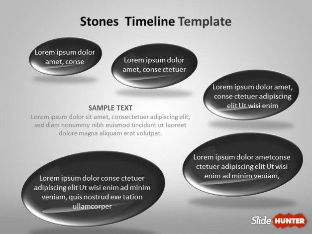 Timeline Template for PowerPoint with Quarters