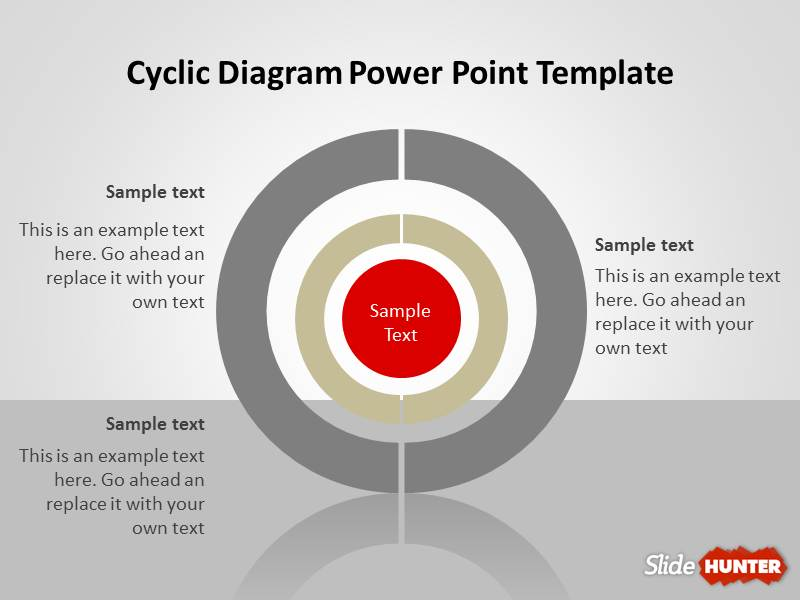 Free Cyclic Diagram Template For Powerpoint