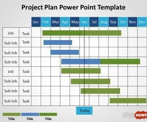 Free Project Planning PowerPoint template