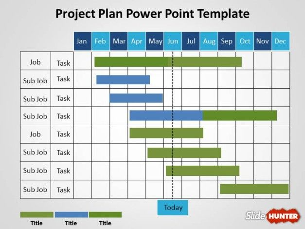 Free project plan powerpoint template for Creating a project plan template