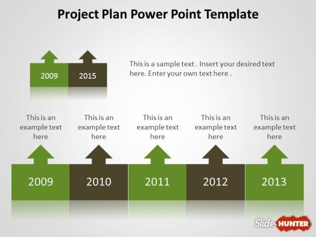 Project Planning Template Design for PowerPoint