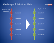 Free Challenges and Opportunities PowerPoint Template
