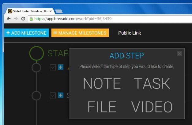 Add Notes, Videos, Tasks Or Files