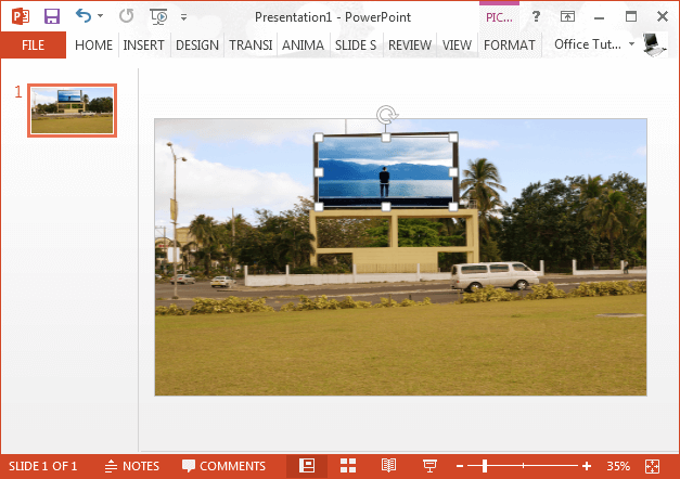 Add an overlay image to your billboard