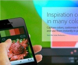 Create Color Themes From Images On iPhone With Adobe Kuler