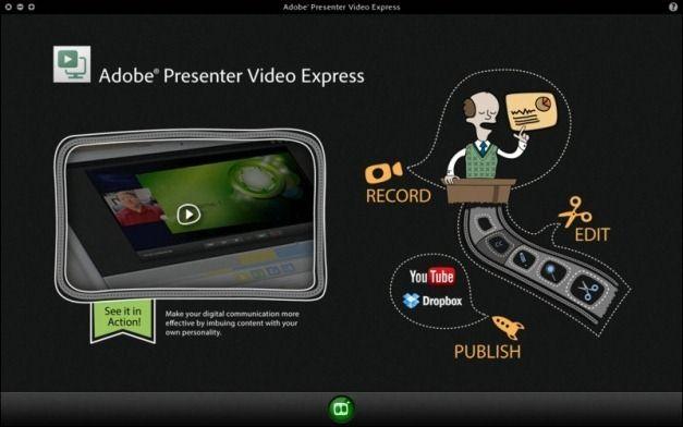 Adobe Presenter Video Express