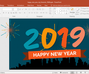 Best Animated 2019 New Year PowerPoint Templates