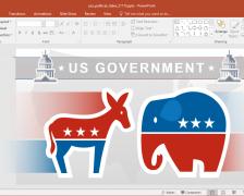 American Politics PowerPoint Template