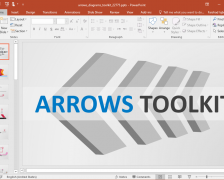 Animated Arrows Diagram Toolkit for PowerPoint