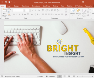 Animated Bright Insight PowerPoint Template
