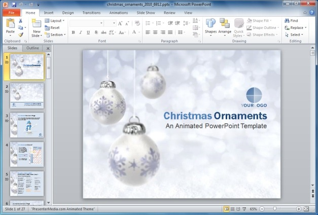Best Free And Premium Christmas Powerpoint Templates