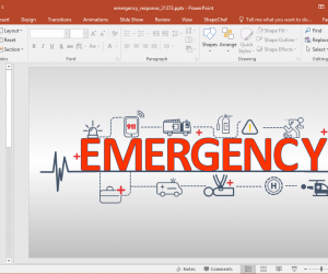 Animated Emergency Response PowerPoint Template