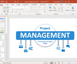 Animated PowerPoint Template for Project Management