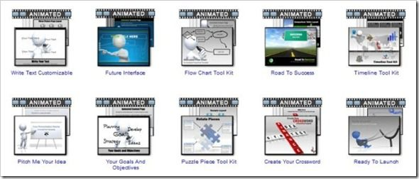 Animated PowerPoint Templates at PresenterMedia