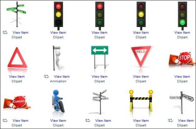 Animated Roads And Cars Clipart