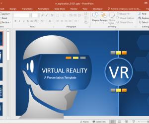 Virtual Reality Powerpoint Presentations Slidehunter Com